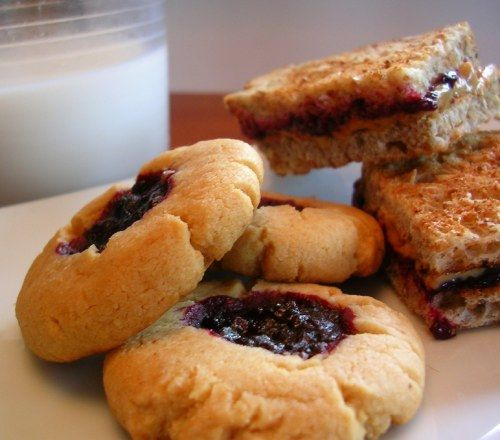 Peanut butter and jelly cookies photo 1