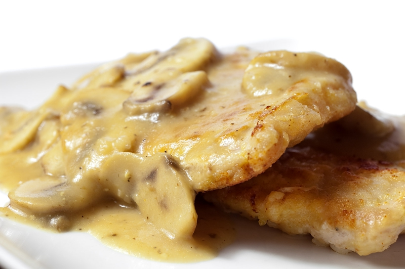 Pork chops in gravy photo 1