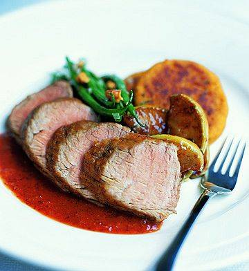 Pork tenderloin with mustard sauce photo 3