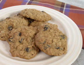 Raisin cookies photo 2