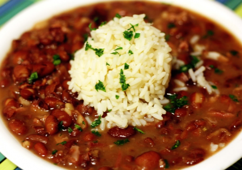 Red beans and rice photo 1