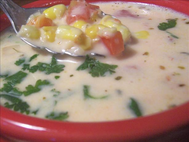 Red bell pepper soup photo 3