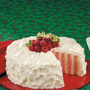 Ribbon cake photo 2