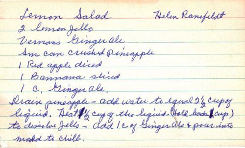 Ribbon jello salad photo 3