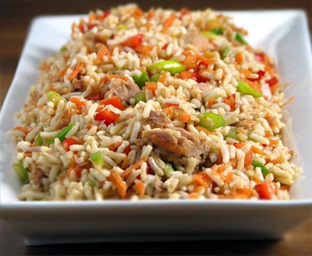 Rice salad photo 1
