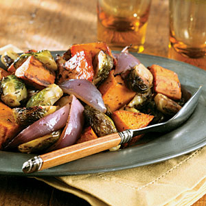 Roasted fall vegetables photo 2