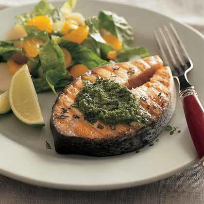 Salmon steaks photo 3