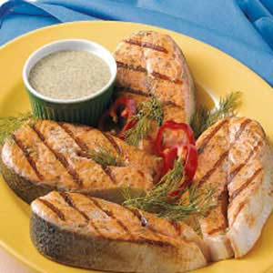 Salmon steaks photo 1
