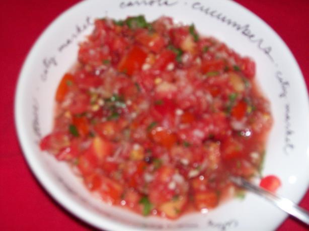 Salsa cruda photo 2