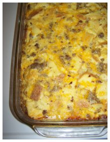 Sausage and egg casserole photo 3
