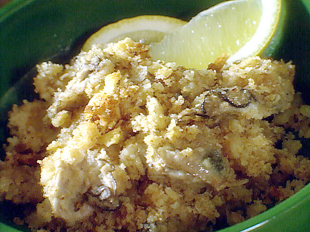 Scalloped oysters photo 3