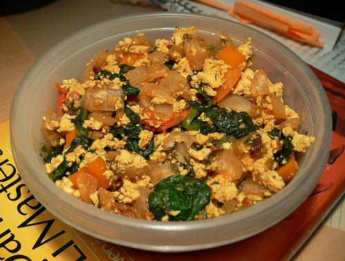 Scrambled tofu photo 2