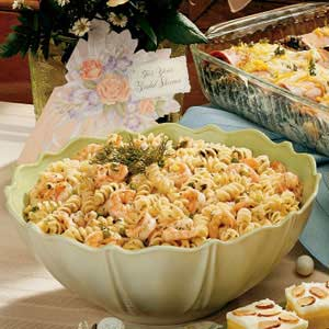 Seafood pasta salad photo 2