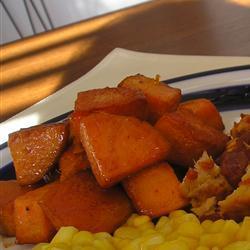 Skillet sweet potatoes photo 3