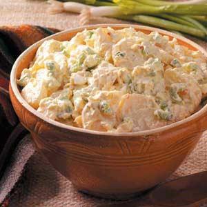 Sour cream potato salad photo 1