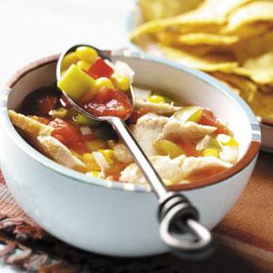 Southwestern chicken soup photo 1
