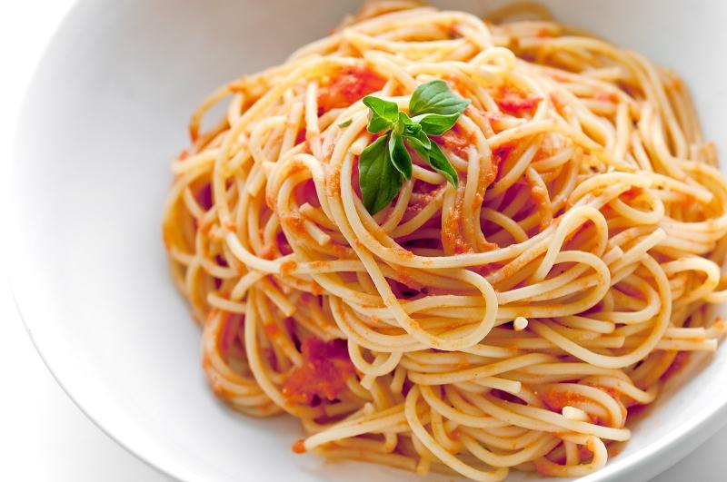 Spaghetti marinara photo 2