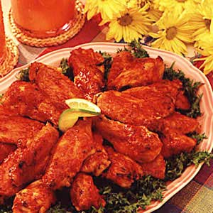 Spicy chicken wings photo 1
