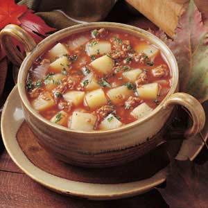 Spicy potato soup photo 1