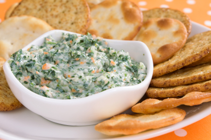 Spinach dip photo 1
