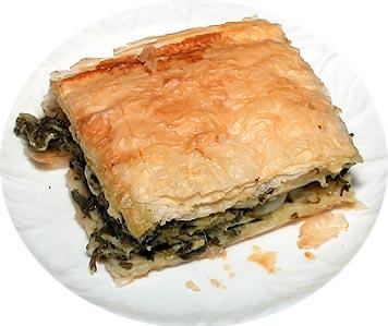 Spinach pie photo 2
