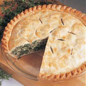 Spinach pie photo 3
