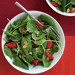 Spinach salad photo 2