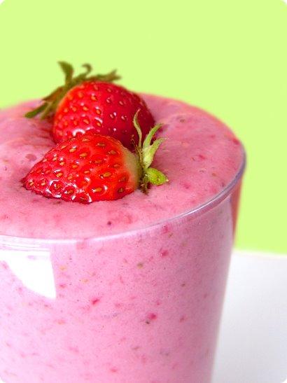 Strawberry milk shake photo 2