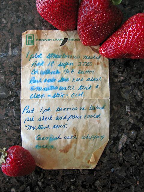 Strawberry pie photo 2