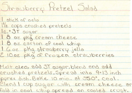 Strawberry pretzel salad photo 3