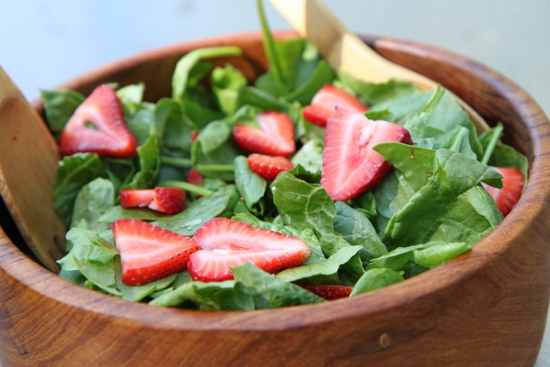 Strawberry salad photo 2