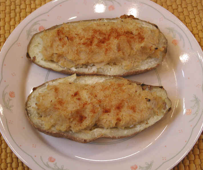 Stuffed baked potatoes photo 3