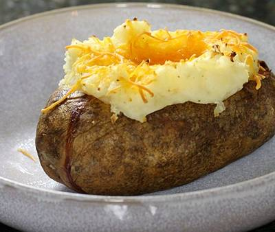 Stuffed baked potatoes photo 2