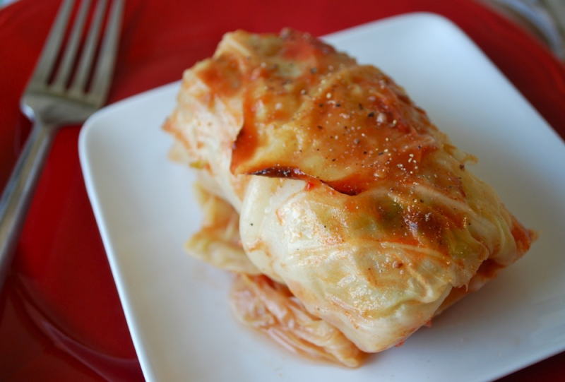 Stuffed cabbage rolls photo 1