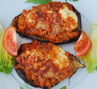 Stuffed eggplant photo 2