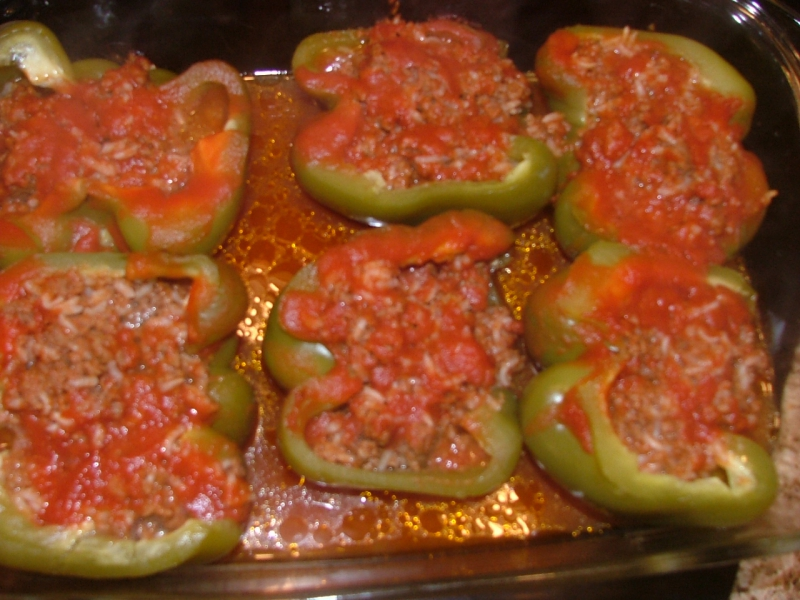 Stuffed peppers photo 3