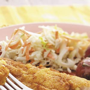 Sweet and sour coleslaw photo 3