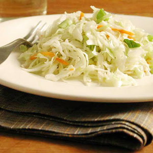Sweet and sour coleslaw photo 1