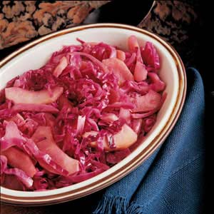 Sweet and sour red cabbage photo 1