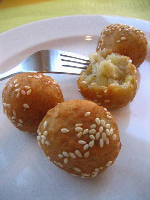 Sweet potato balls photo 1