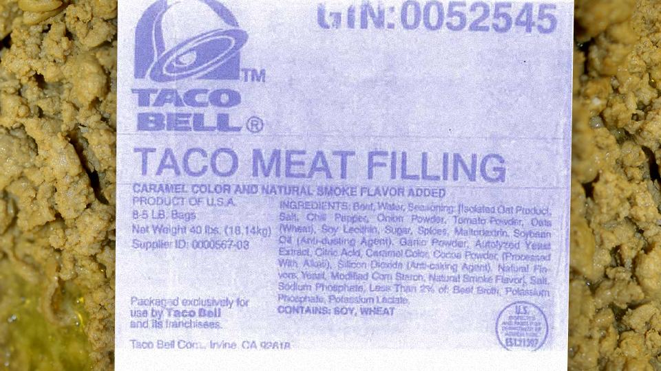 Taco bell tacos photo 2