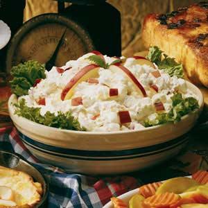 Taffy apple salad photo 1