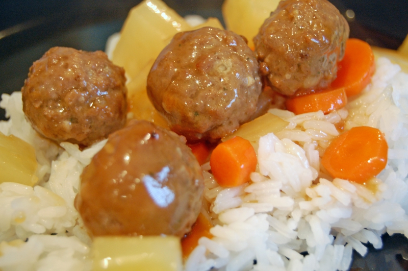 Tangy sweet and sour meatballs photo 3