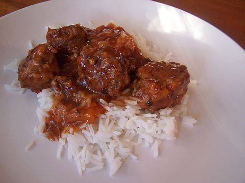 Tangy sweet and sour meatballs photo 2