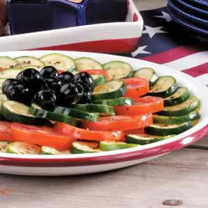 Tomato and zucchini salad photo 1