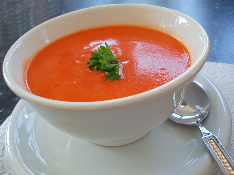 Tomato soup photo 2