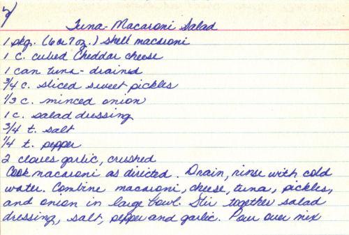 Tuna-macaroni salad photo 2