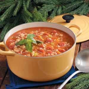 Turkey barley soup photo 3