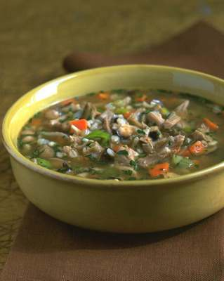Turkey barley soup photo 1