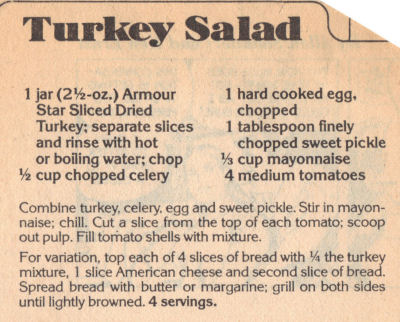 Turkey salad photo 1